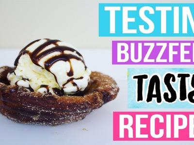 TASTY BUZZFEED RECIPES TESTED #5