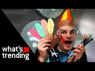 Thanksgiving Arts and Crafts with Flula! | WHAT'S TRENDING