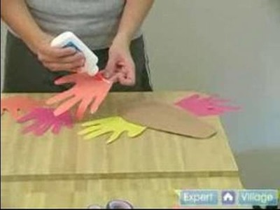 Toddler Activities & Crafts : Toddler Crafts: Construction Paper Turkey