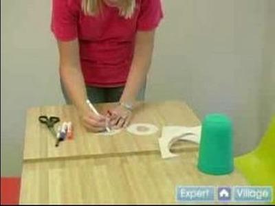 Toddler Activities & Crafts : Toddler Crafts: Construction Paper Doughnuts