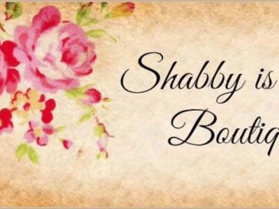 Tutorial Tuesday- Shabby Chic Altered Jar