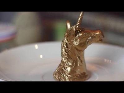 Watch Me Sculpt: Unicorn Bust
