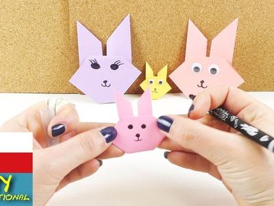 Zajíček z papíru - origami zajíček