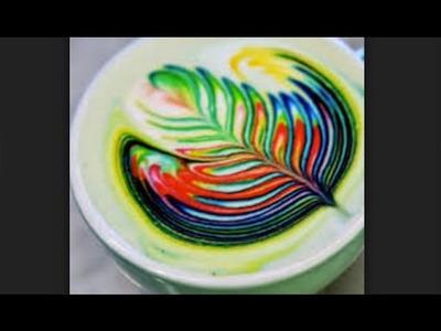 Best Rainbow Latte Art May 2016