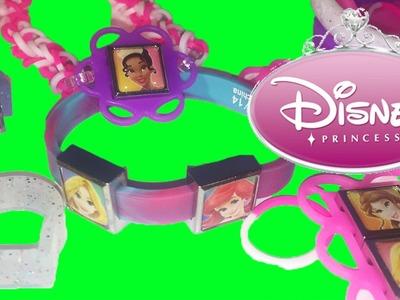 DISNEY PRINCESS Rainbow Loom Interchangeable Charms Fun Kids Toy Videos Crafts