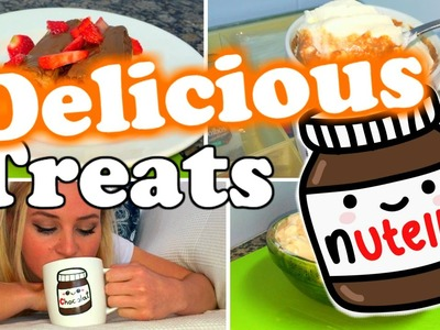 DIY Delicious Fresh Nutella Treats!