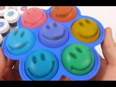 Funny Face Rainbow Color Smile Pudding Jelly Learn the Recipe DIY