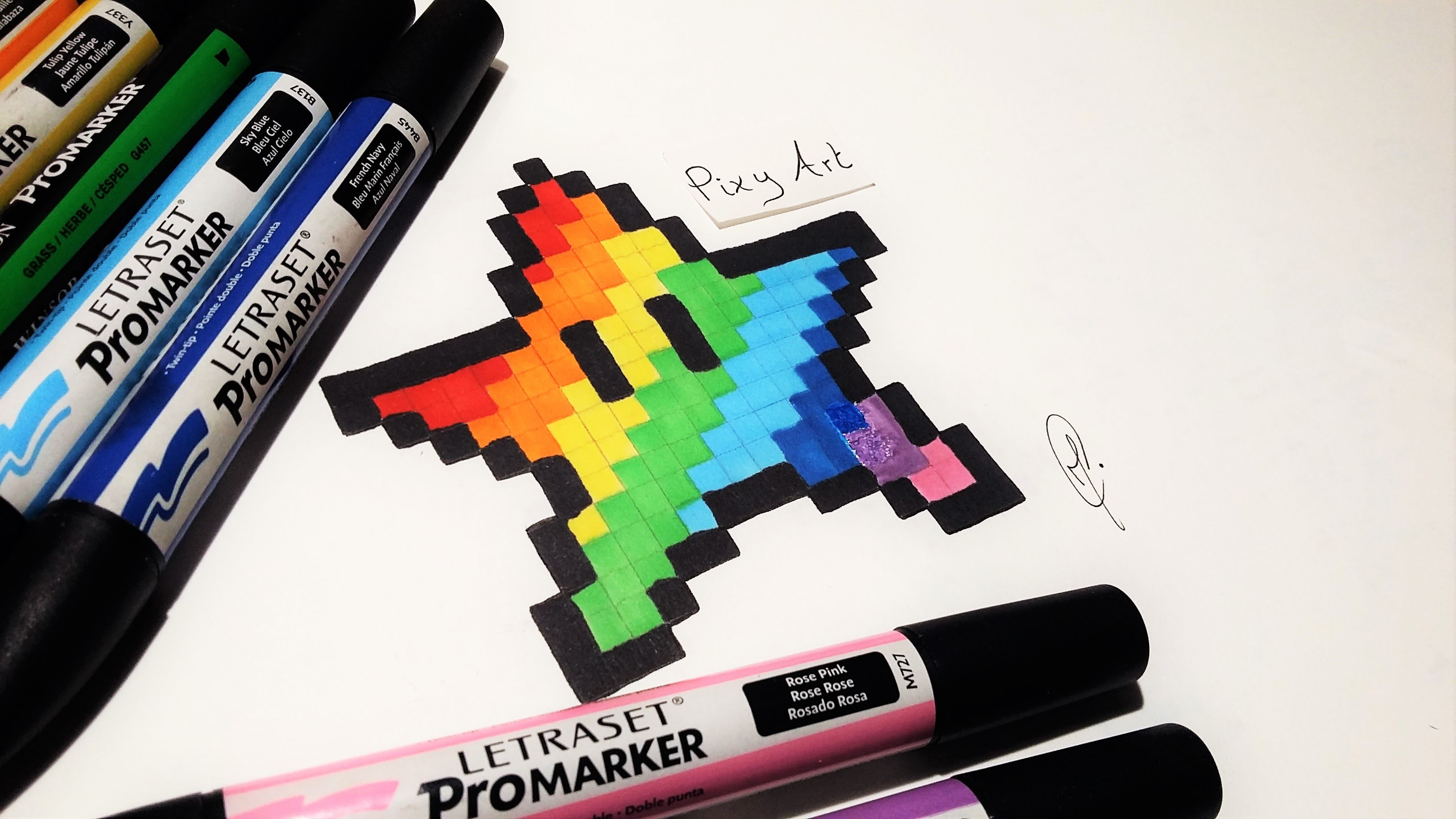 How to learn to draw pixel art
