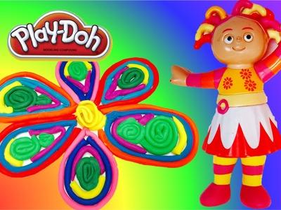 Making an UPSY DAISY Play-Doh Rainbow Flower!