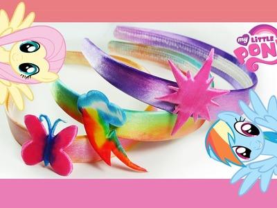 My Little Pony Rainbow Splash Headband Kit MLP