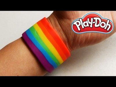 Play Doh Rainbow Bracelet
