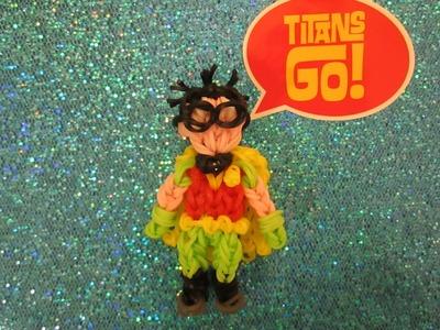 Rainbow Loom Teen Titans Go! Robin Charm.
