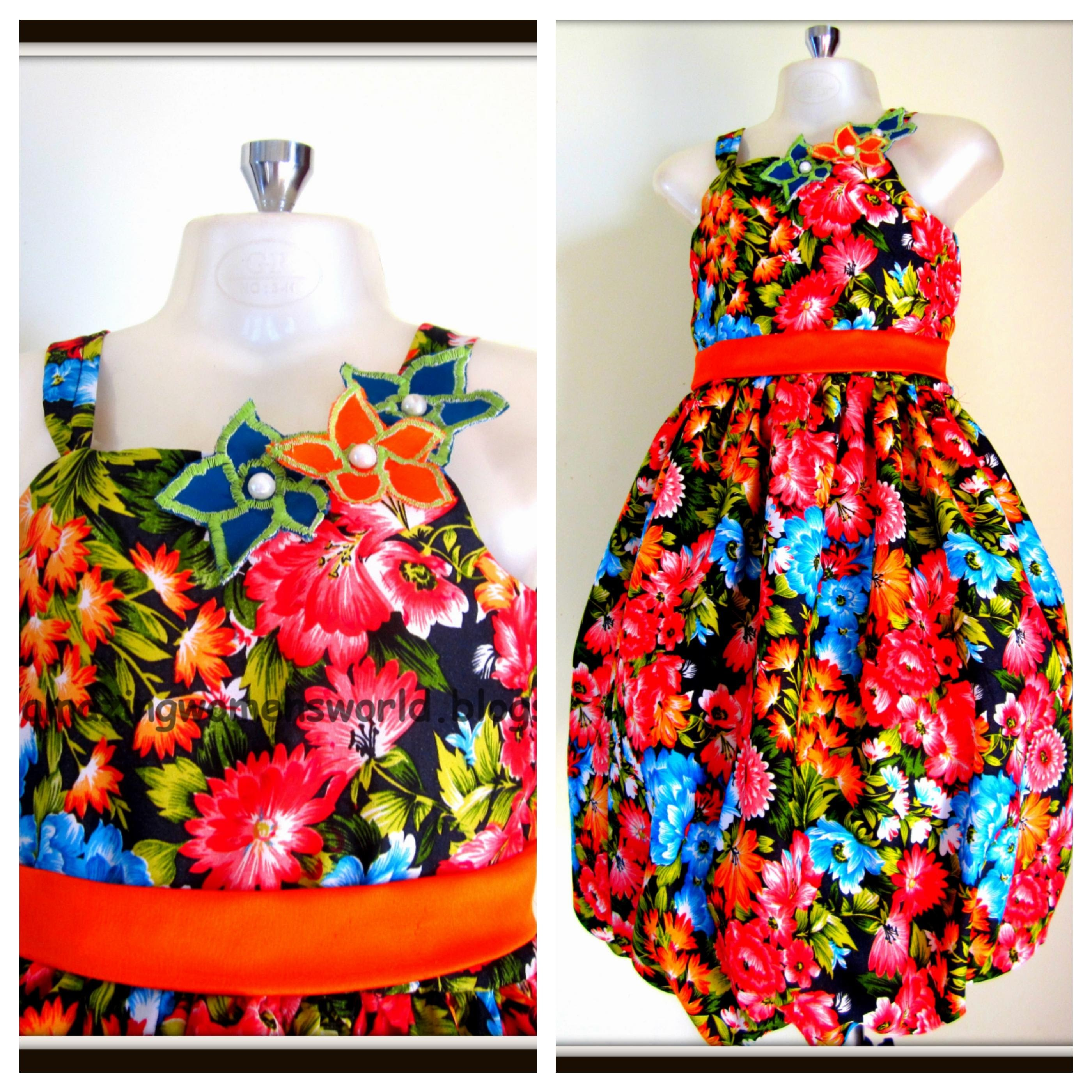 BALLOON FROCK - EASY MAKING- STEP BY STEP