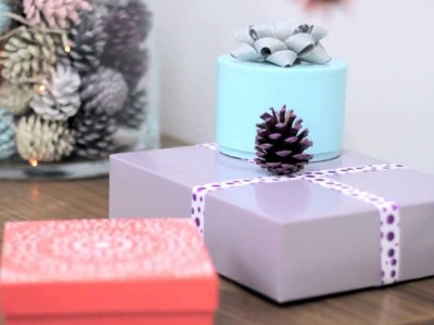 Christmas Crafts: Gift Boxes