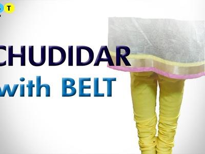 Chudidar with Belt- Simple method