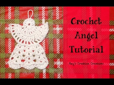 Crochet Angel Ornament Tutorial