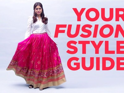 D.I.Y. Styling | How To Pair a White Shirt with a Lehenga | StyleIndi