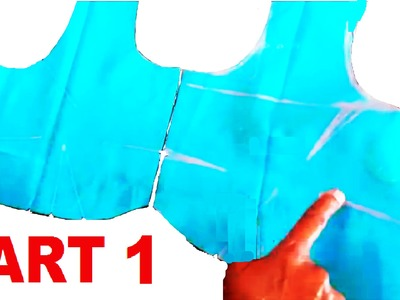 Easy method of saree blouse cutting   part 1 of 2
