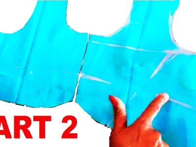 Easy method of saree blouse cutting   part 2 of 2