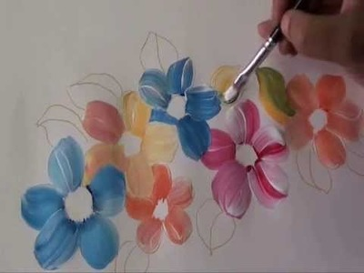 Fabric painting Tutorial 2