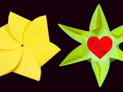Flower envelope popup for short and secret messages (Valentine Day Crafts) HD