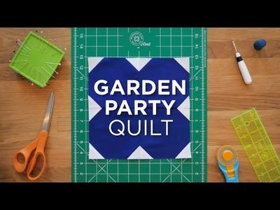 Garden Party - Quilt Snips Mini Tutorial