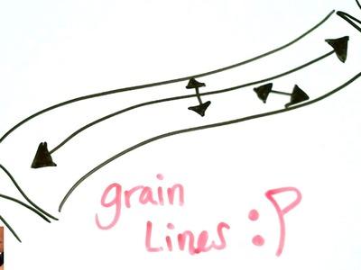 Grainlines Explained | Pattern Making for Beginners