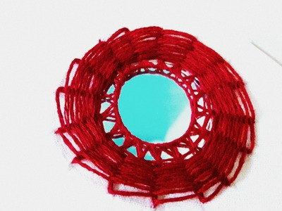 HAND EMBROIDERY : MIRROR WORK(SHISHA) #9