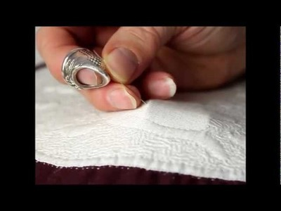 Hand Quilting with Esther Miller - needleslide technique and fitting
