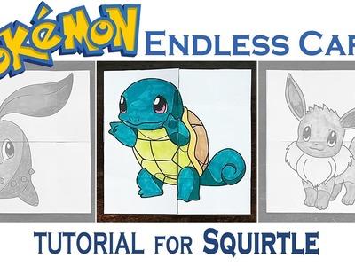 Hattifant - Pokemon Evolution - SQUIRTLE - ENDLESS CARDS - TUTORIAL