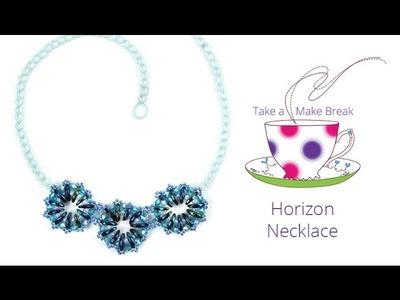 Horizon Necklace | Take a Make Break with Sarah