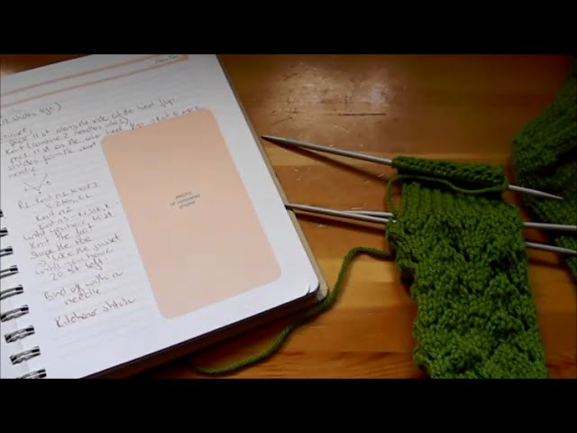 HOW TO KNIT SOCKS:  heel flap (eye of partridge stitch)