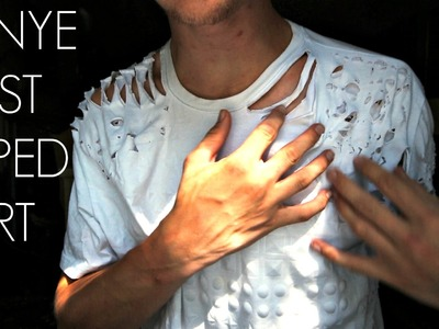How To Make A Ripped T-Shirt Like Kanye West!    Kent Heckel