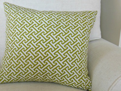How To Make A Throw Pillow