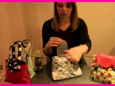 How to sew a Handbag - Introduction to the project (Mary Lou Pattern)