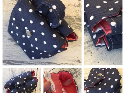 How to Sew A Mini Saddle Bag