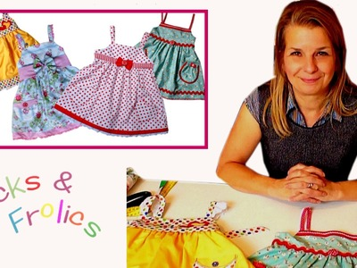 How to sew a Sun Dress - Introduction to the Project (Natalie Pattern)