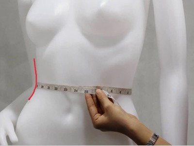 How to take your own measurement (For Women)