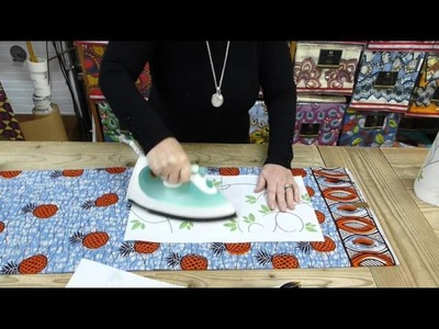 Julius Holland waxprint how to remove a label without steam