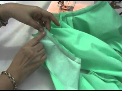 Lesson 3-15 How to Attach the Collar to the Main Bodice Part 2