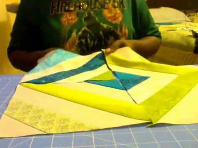 Make a Quilt: Tube Quilting!