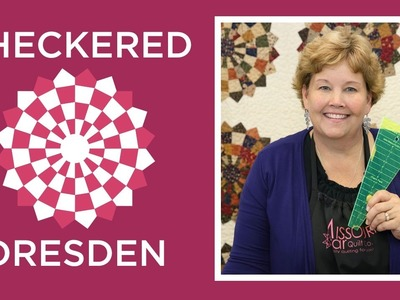 Make an Easy Checkered Dresden Quilt with Jenny!