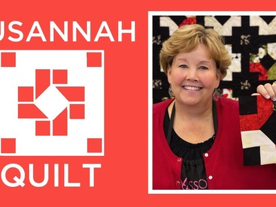 Make an Easy Susannah Quilt with Jenny