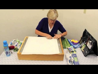 """Picking Your Fabric, and Prepping Your Block - Video 2 of 7- """"Peggy's Puzzle"""" Block 1"""