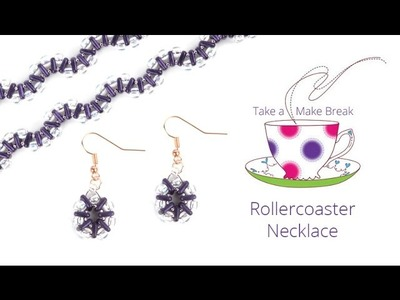 Rollercoaster Necklace | Take a Make Break with Sarah