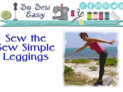Sew Simple Leggings for Women