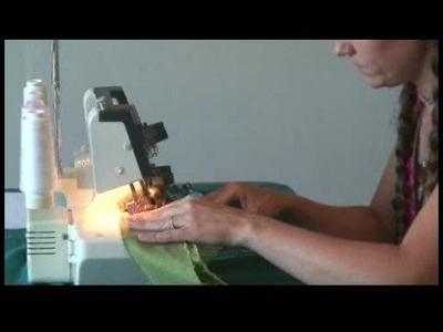 Sewing a Drawstring Skirt : Drawstring Skirt Waistband
