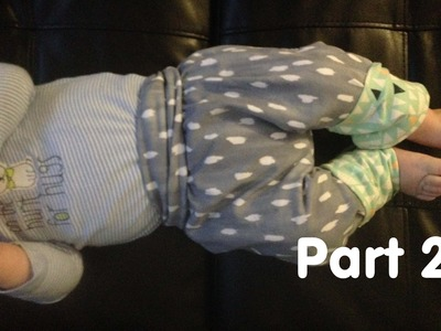 Sewing Cloth Diaper Leggings- PART 2