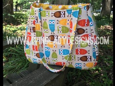 Swoon Ethel Tote Bag Full Length Tutorial
