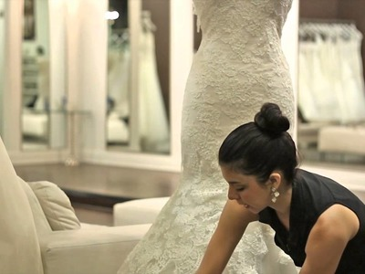 Techniques to Make a Wedding Dress Longer : Wedding Dresses & Bridal Fashion